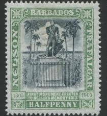Barbados Nelson Statue Erected in 1813